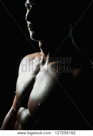 Male Bare Chest