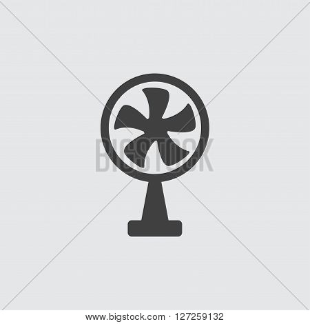 Fan icon illustration isolated vector sign symbol