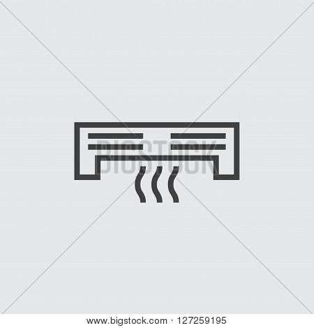 Air vonditioner icon illustration isolated vector sign symbol