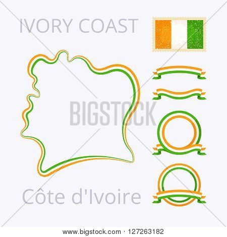Colors Of Cote D'ivoire (ivory Coast)
