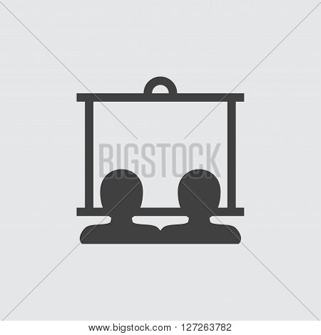 Lecture icon illustration isolated vector sign symbol