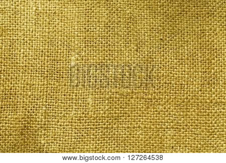 Yellow Textile Sack Texture