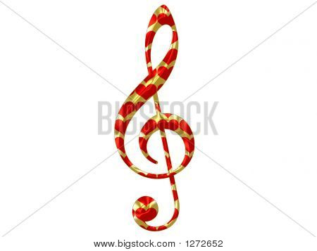 Heart Treble Clef