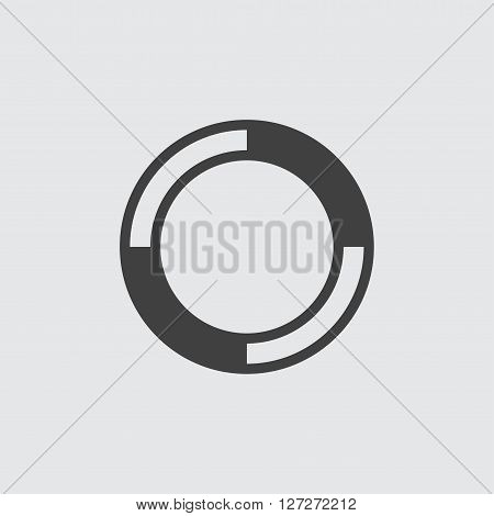 Lifebuoy icon illustration isolated vector sign symbol