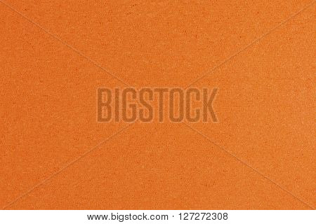 Eva foam ethylene vinyl acetate orange surface sponge plush background