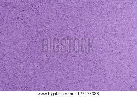 Eva foam ethylene vinyl acetate light purple surface sponge plush background