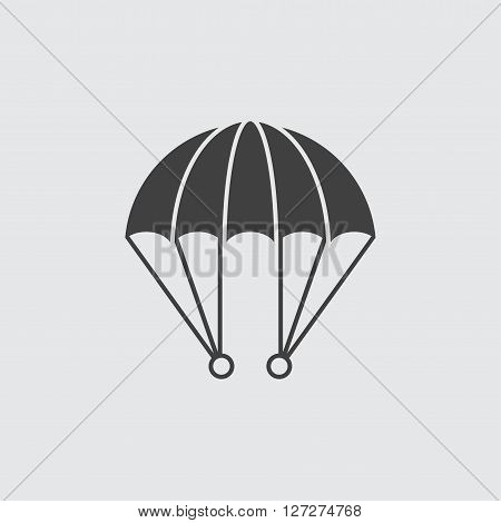 Parachute icon illustration isolated vector sign symbol
