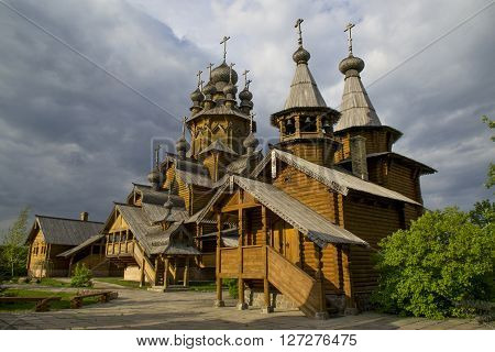 Monastery of All Saints Svyatogorsk Lavra belongs . It was founded at the beginning 2000 - ies at the site of the monastery cemetery .
