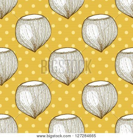 Hazelnut In Vintage Style