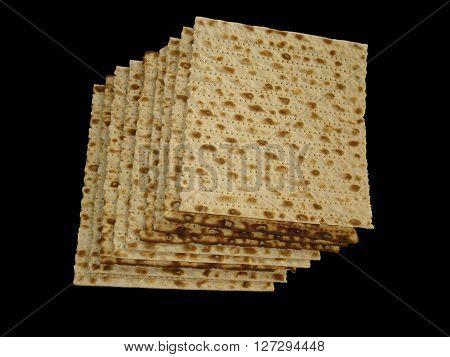 Matzoth, maztot, matza, (unleavened bread), passover bread.
