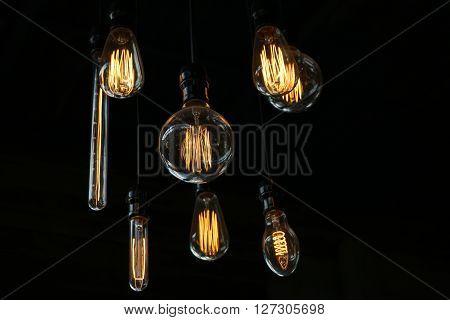 Light Bulb Or Old Style Lighting