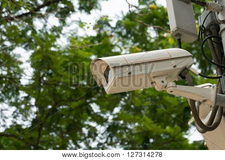 CCTV recording important events, camera control electronic