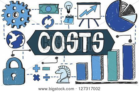 Costs Finance Banking Budget Concept