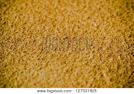 a beige suede texture macro close up