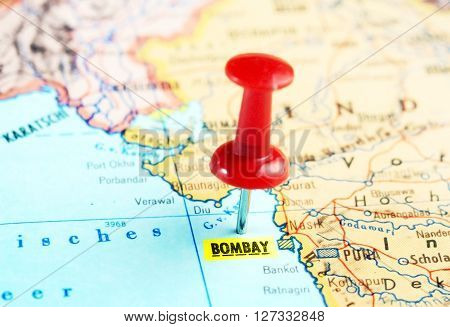 Bombay India  Map