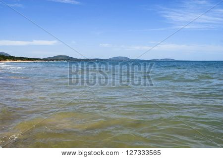 Beach Coast Clear Water Sea Summer Vacation