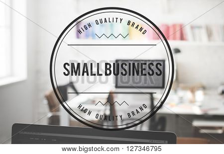 Small Business Development Entrepreneur Niche Concept