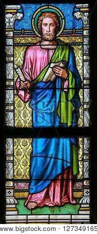 Stained Glass - St Luke The Evangelist