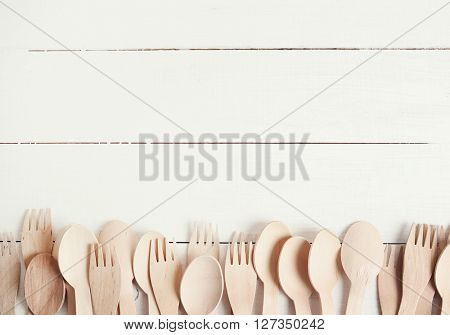 Cooking. Kitchen utensil on the table