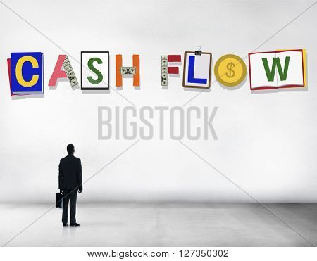 Cash Flow Money Currency Economy Finance Investment Concept