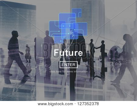 Future Online Technology Global Internet Concept