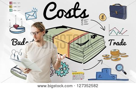 Costs Money Finance Investment Economic Budget Concept