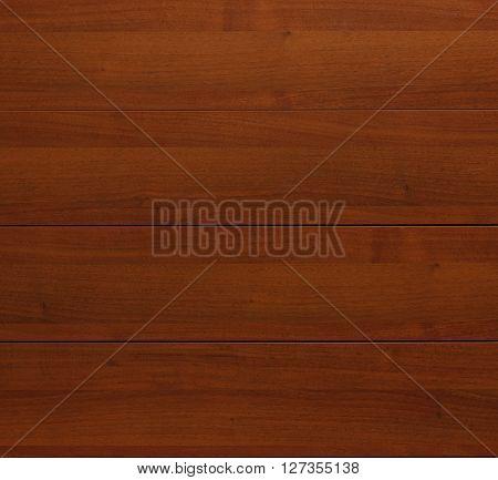 Wood teak texture background. Horizontal stripe, closeup