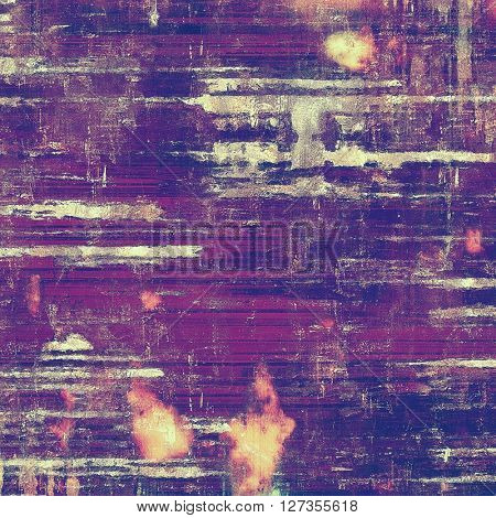 Abstract colorful background or backdrop with grunge texture and different color patterns: yellow (beige); brown; blue; gray; purple (violet); pink