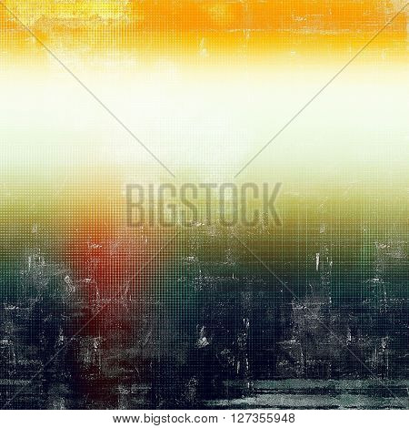 Grunge texture, detailed macro closeup, vintage composition. With different color patterns: yellow (beige); green; blue; red (orange); black; white