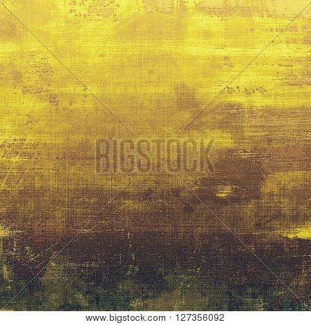 Old crumpled grunge background or ancient texture. With different color patterns: yellow (beige); brown; green; gray; black