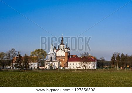 Lavra - the large Monastery of the Annunciation in Suprasl - Poland XVI century