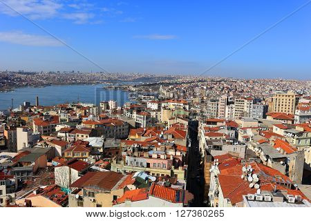 Istanbul City Skyline