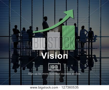 Vision Direction Aspiration Future Inspiration Concept