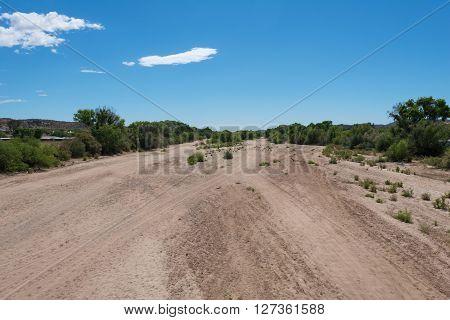 Dry Hassayampa River