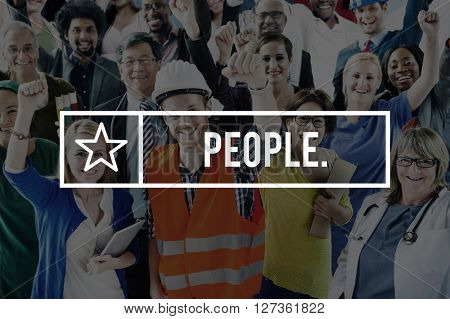 People Humanity Community Diversity Society Concept