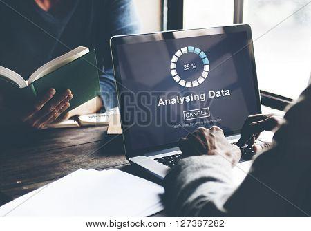 Analysing Data Loading Progress Bar Concept