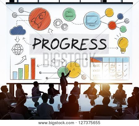 Progress Development Growth Innovation Advancement Concept