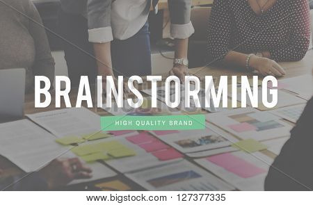 Brainstorming Analysis Planning Strategy Solution Concept