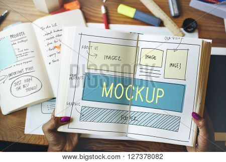 Mockup Object Imitate Model Replica Design Reproduce Concept