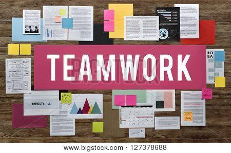 Teamwork Alliance Association Collaboration Concept