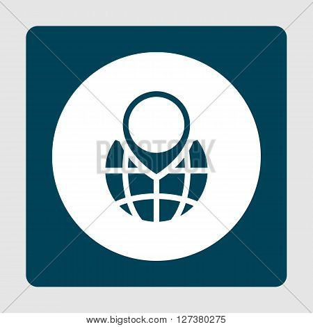 Ecology Globe Icon In Vector Format. Premium Quality Ecology Globe. Web Graphic Ecology Globe Sign O
