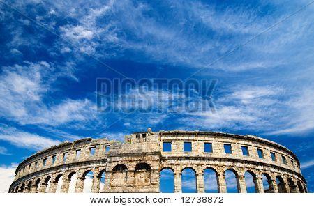 römische Kolosseum in Pula, Kroatien