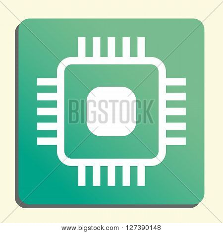 Hardware Chip Icon In Vector Format. Premium Quality Hardware Chip Symbol. Web Graphic Hardware Chip