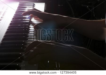 Pianist Musician Piano Musical Instrument Playing.