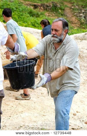 Dirt Bucket Man