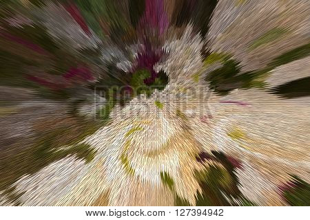 Point And Sharp Shape Abstract Pastel Colour Twist Background