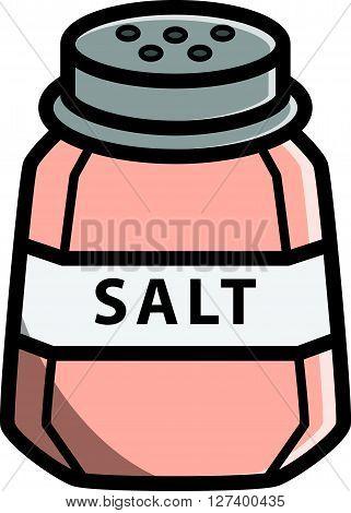 Salt vector cartoon illustration .Eps 10 editable vector Illustration design