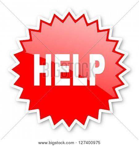 help red tag, sticker, label, star, stamp, banner, advertising, badge, emblem, web icon