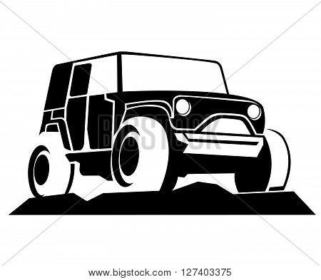 Monster Truck Vector .eps10 editable vector illustration design