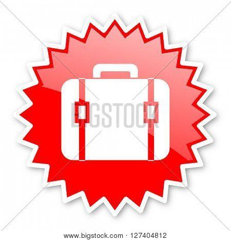 bag red tag, sticker, label, star, stamp, banner, advertising, badge, emblem, web icon